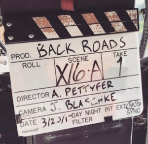 Back Roads Movie Board